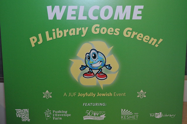 PJ Library Goes Green 2012
