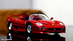 race car(1.0), model car(1.0), automobile(1.0), vehicle(1.0), performance car(1.0), automotive design(1.0), ferrari f50 gt(1.0), ferrari f50(1.0), ferrari s.p.a.(1.0), land vehicle(1.0), luxury vehicle(1.0), supercar(1.0), sports car(1.0),