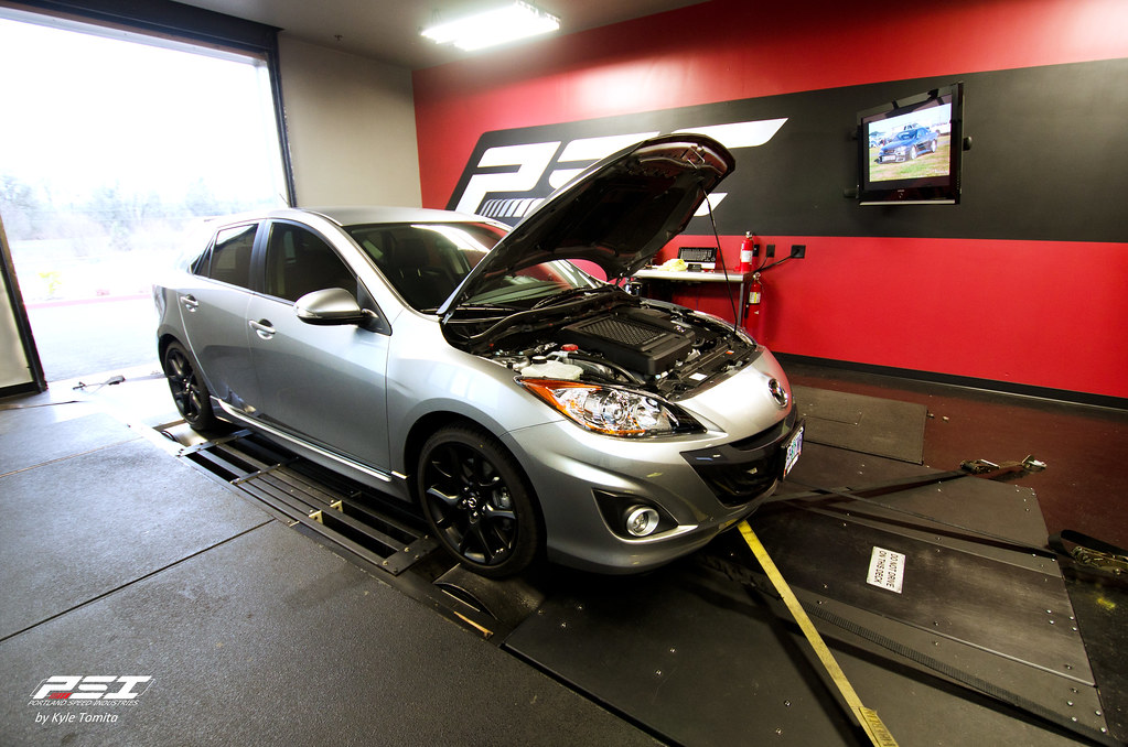 2012 Mazdaspeed3 on the dyno at PSI