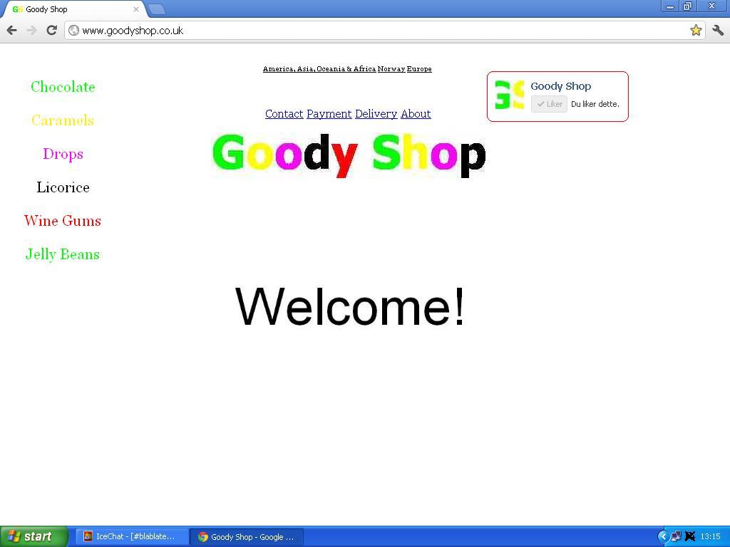 facebook gruppe goody shop