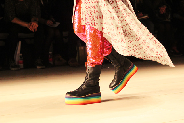 ashish AW12 london fashion week