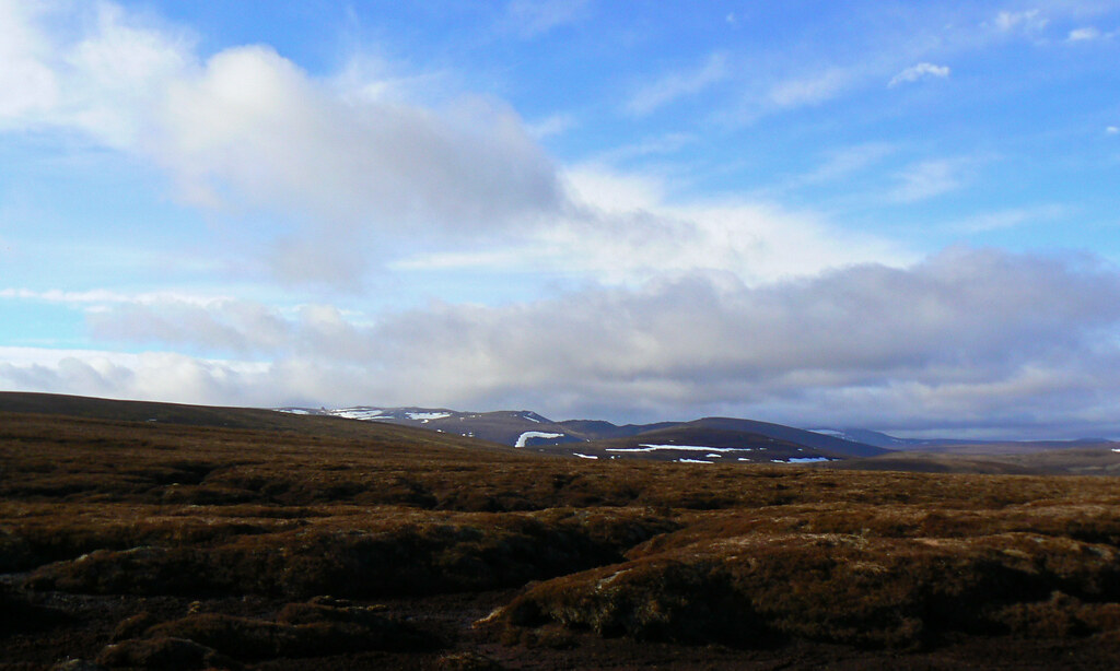 Cloud over the Cairngorms