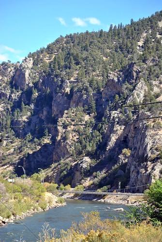 railroad travel train colorado amtrak californiazephyr glenwoodcanyon