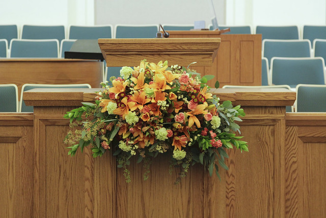 stake conf flowers