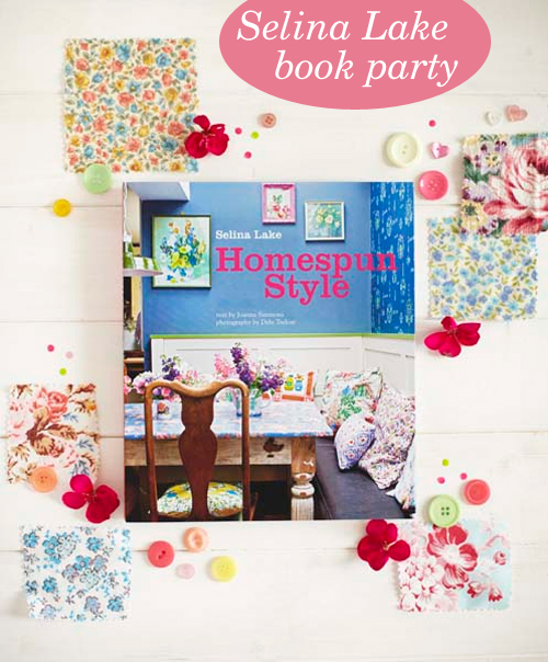Selina Lake : Homespun Style book party