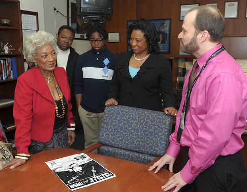Nichelle Nichols Visits NASA Goddard for MLK/African American History Month Keynote Event