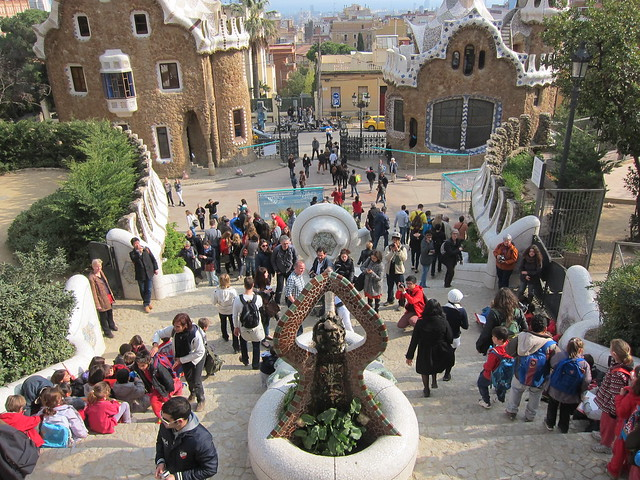 Park Güell - View From The Top
