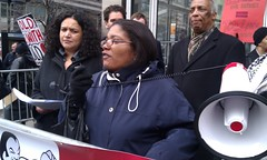 FUREE member Sharon Davis-Knight speaks about living conditions