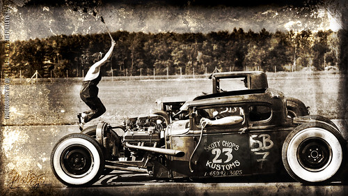 Hot Rod Wallpaper 27'' iMac by The Pixeleye