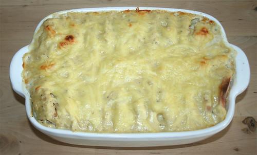 26 - Fleischwurst-Kartoffel-Gratin / Bologna potato gratin - Fertig gebacken