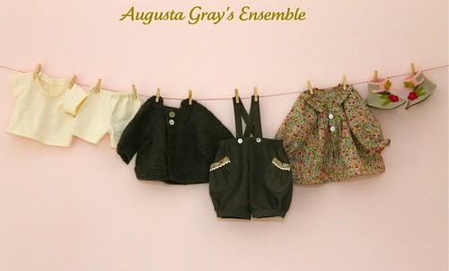 Augusta Gray's clothing.