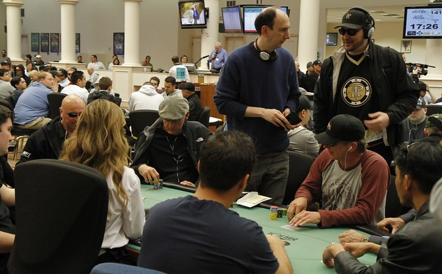0623 Erik Seidel and Phil Hellmuth