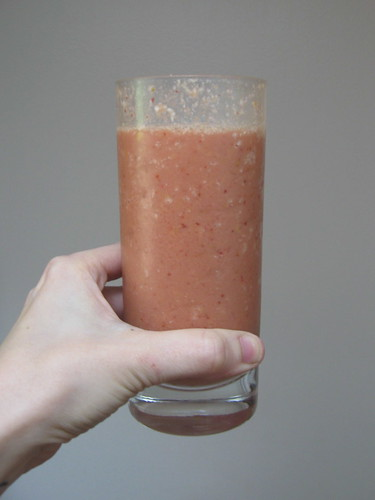 Strawberry Mango Protein Shake