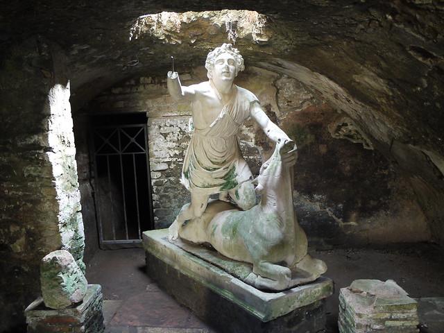 Underground shrine to Mithras