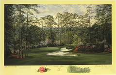 The 10th Hole, Camellia, Augusta National Golf Club, Augusta, Georgia