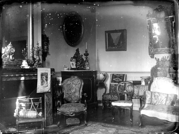 Int rieur d 39 un salon bourgeois allemagne flickr photo for Interieur 1900