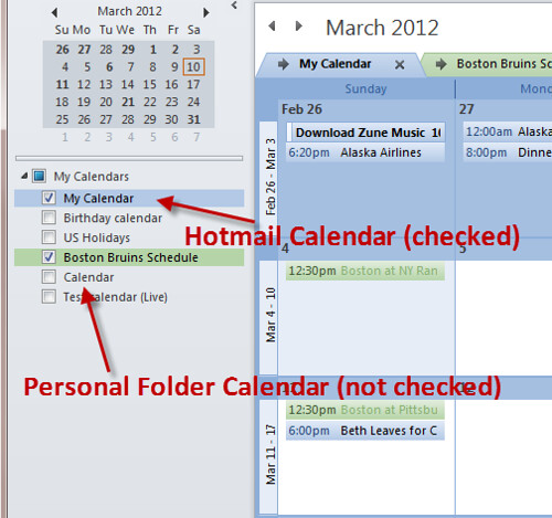 Can I Sync My Outlook Calendar With My Hotmail Calendar