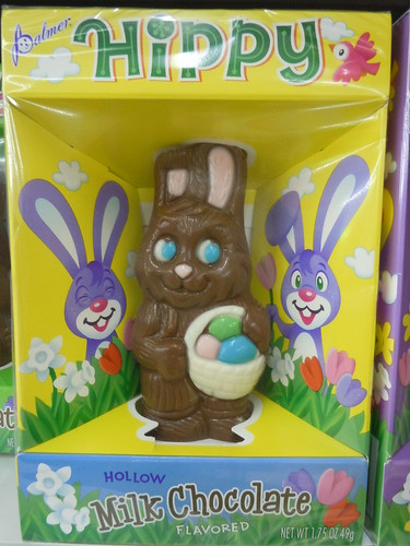 Hippy The Chocolate Easter Bunny