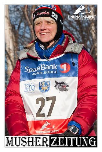 Finnmarkslopet F500 Champion 2012: Katy Meier D/SWE