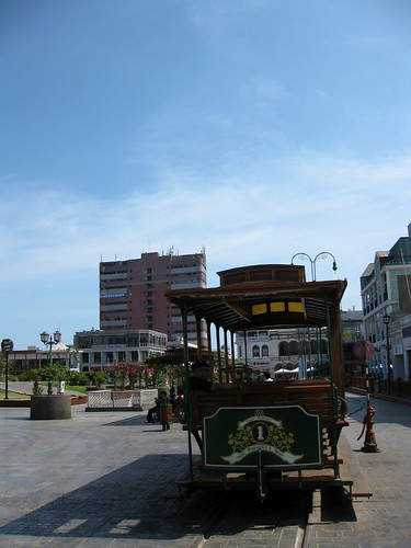 Baquedano trolley
