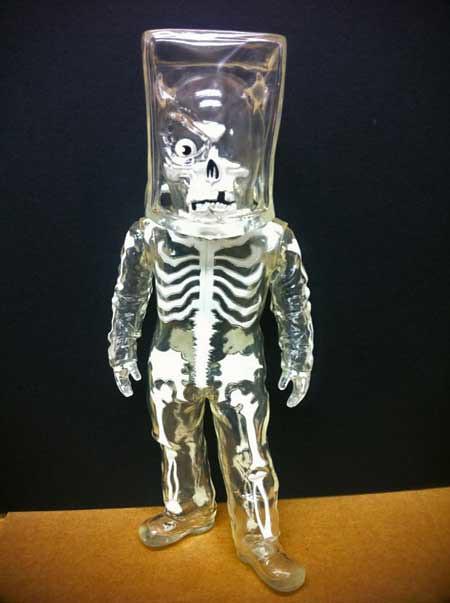 Crystall Clear Skullman and SkullBB