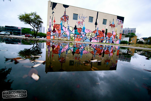 Weah (Houston Graffiti) at Lawndale Art Center, Houston TX