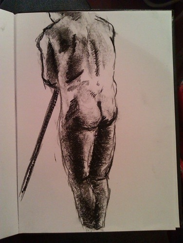Life drawing at Candid Arts