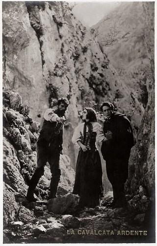 Raimondo Van Riel, Soava Gallone & Gabriel de Gravone in La cavalcata ardente