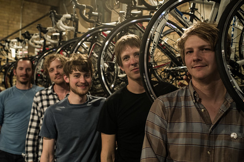 Shearwater at Mellow Johnnys Bike Shop for SXSW