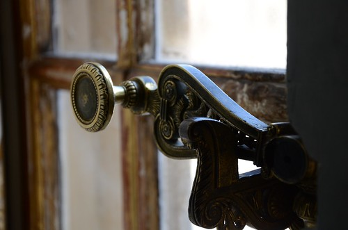 Window latch, Palace de Versailles
