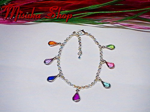 Pulsera Gotas De Colores by Misuka Shop