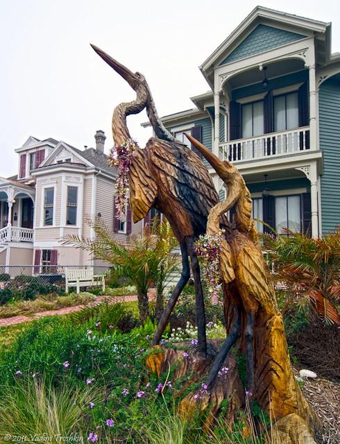 Galveston tree sculptures flickr photo sharing