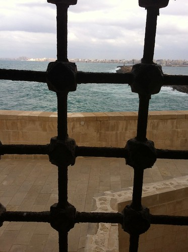 View of the Ocean from Qaitbey Citadel, Alexandria, Egypt