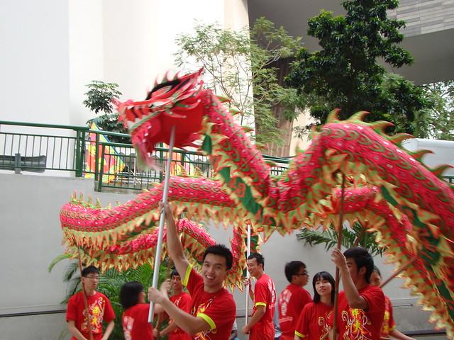Singapore Lion Dance Contest... | Flickr - Photo Sharing!