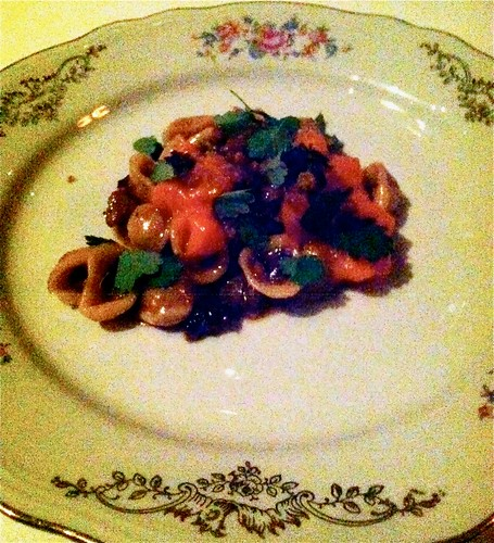 Orecchiette with Lamb Neck Ragu