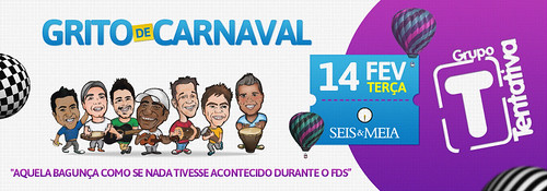 Banner Grito de Carnaval by chambe.com.br