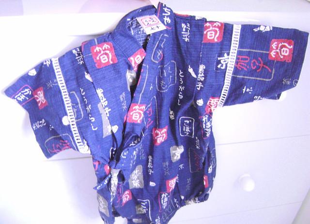 body kimono infantil