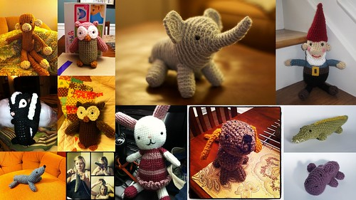 Emily crochets