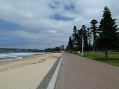 North end of Manly beach