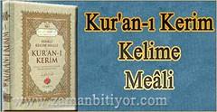 Kur'an-ı Kerim Kelime Meali İndir