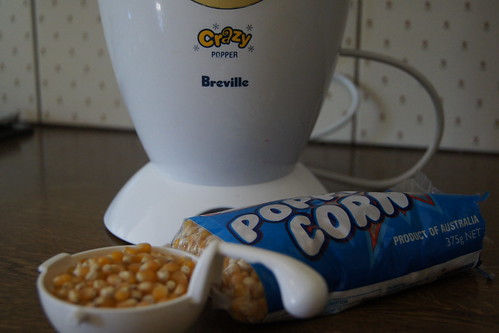 Lunch Box Ideas - Popcorn maker