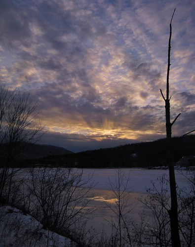new winter sunset snow berlin river afternoon hiking january rail nh hampshire hike trail gorham androscoggin