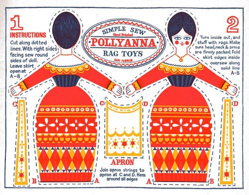rag toys pollyanna
