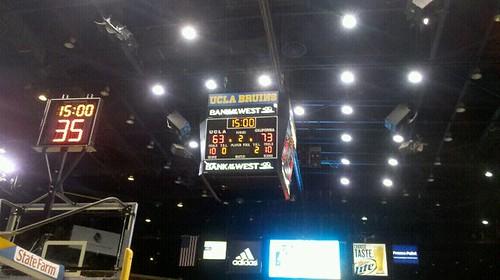 cal ucla hoops 2012 scoreboard