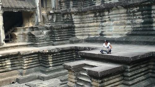 Angkor Wat, Cambodia by Micaela Rodriguez
