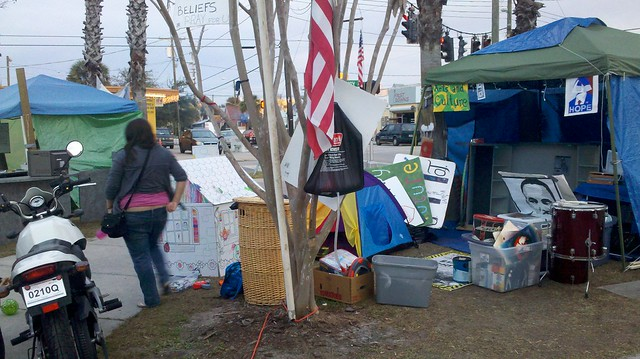 Occupy Tampa Pic 6 from Sonja E