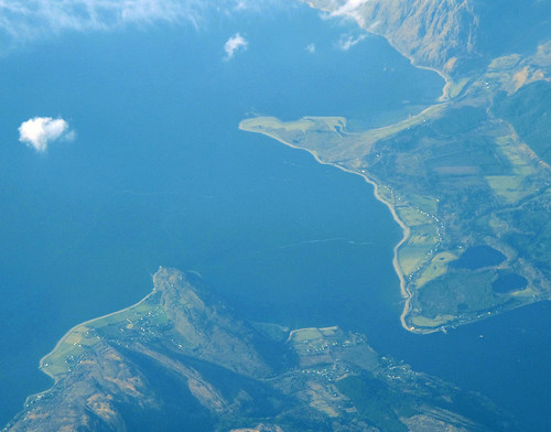 Loch Linnhe, aerial photo