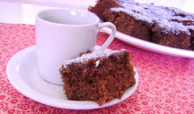 o 1˚ bolo de chocolate