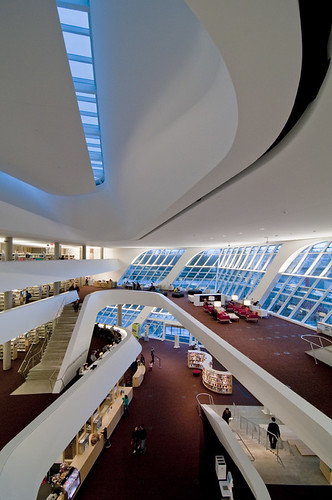Surrey Centre Library  by petetaylor