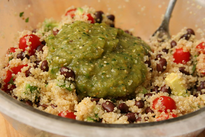 black bean quinoa 4